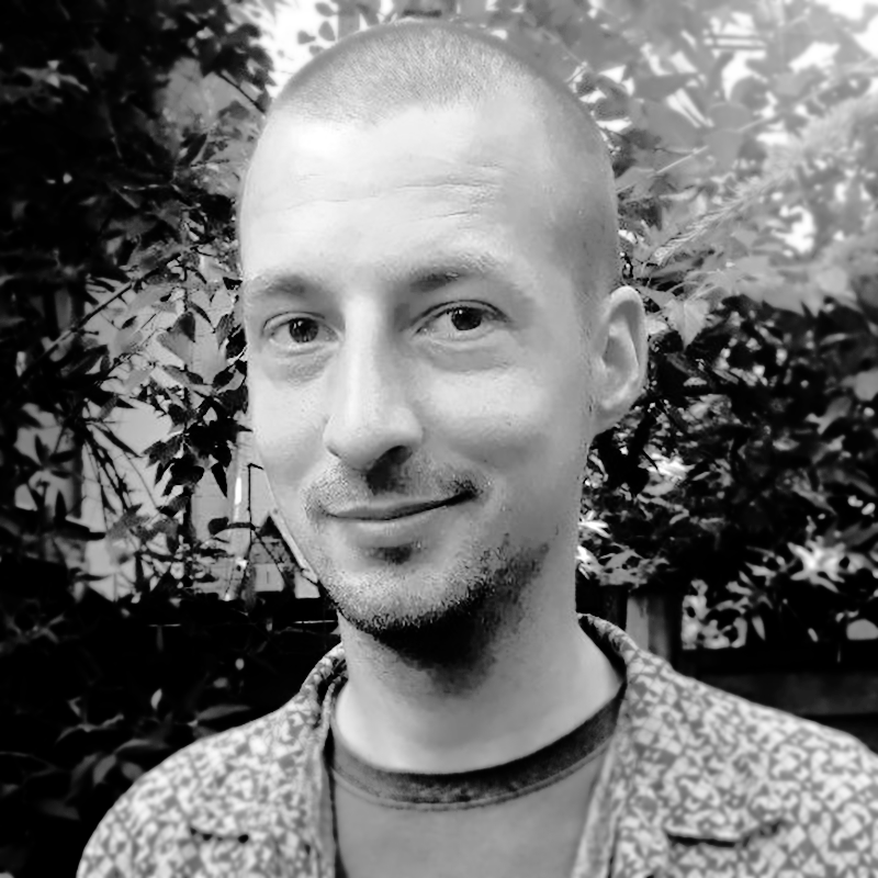 black-and-white profile picture of Börge Kiss