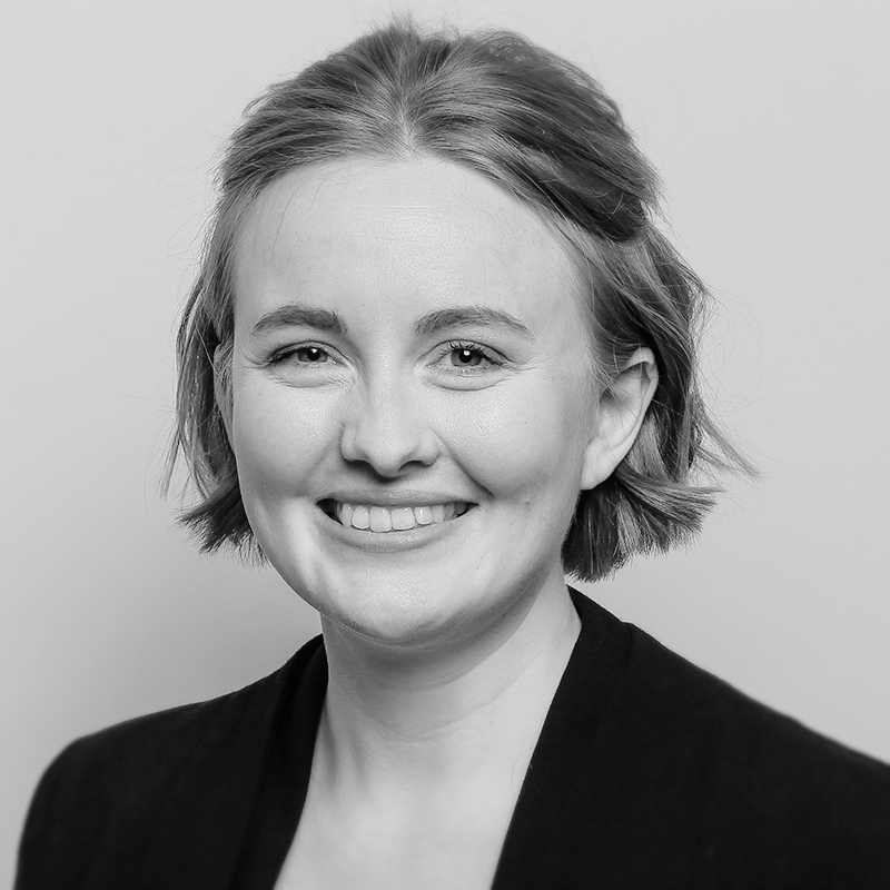 black-and-white profile picture of Elisabeth Mollenhauer