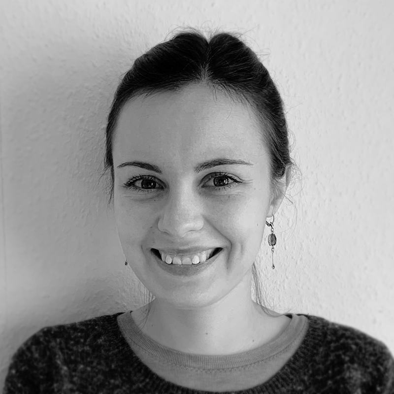 black-and-white profile picture of Julia Sorouri